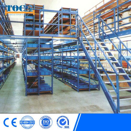 Fem Warehouse Shelf of Mezzanine Racking System From Toco