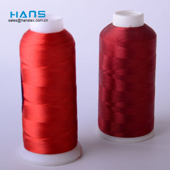 Hans High Quality OEM Durable Silk Embroidery Thread pictures & photos