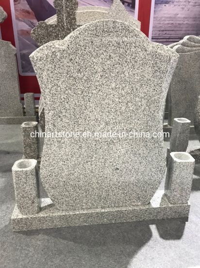 G664 China Granite Headstone for Europe Market pictures & photos