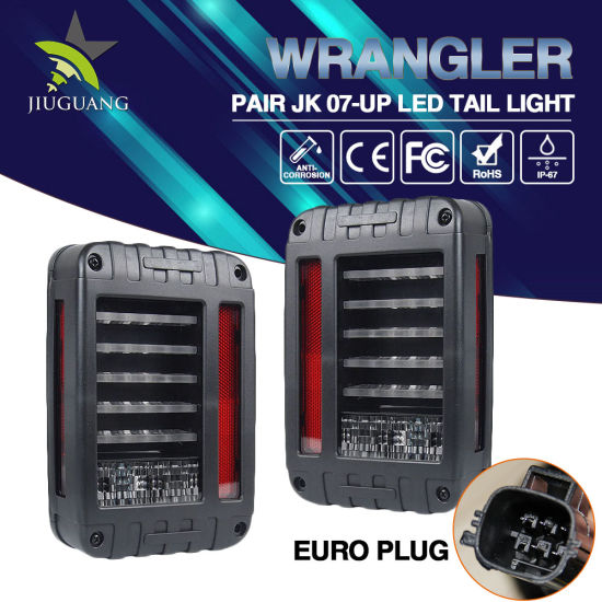 Car Part Jeep Wrangler Rear Light Cheap 3000K 6000K LED Tail Light