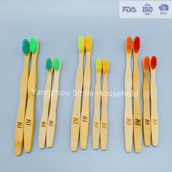 Top Quality Degradable Bamboo Toothbrush for Adult and Children