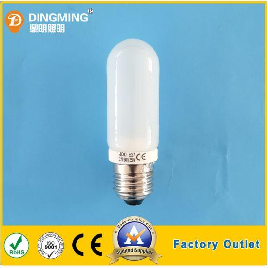 Customized Jdd 230V 250W E27 Halogen Bulb