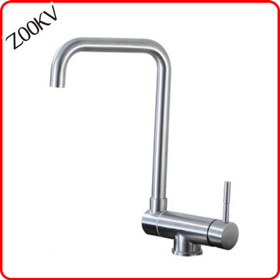 304 Stainless Steel Folding Cold and Hot Kitchen Mixer Foldable Sink Faucet