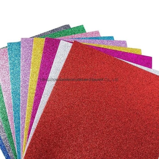 2mm Thickness Foam Sheet EVA Glitter for School Craft and Office Paper