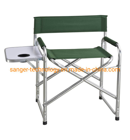 High Quality Folding Director Chair Deluxe Director's Chair with Side Table