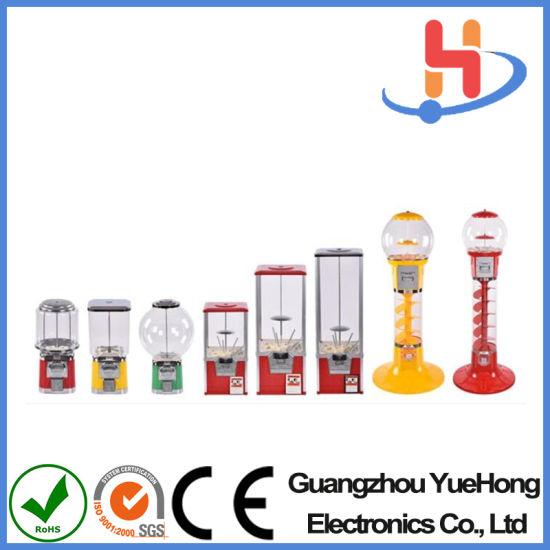 Gashapon Machines Manufacturer Bouncy Ball Spiral Capsule Gumball Vending Machine Spiral Vending Machine