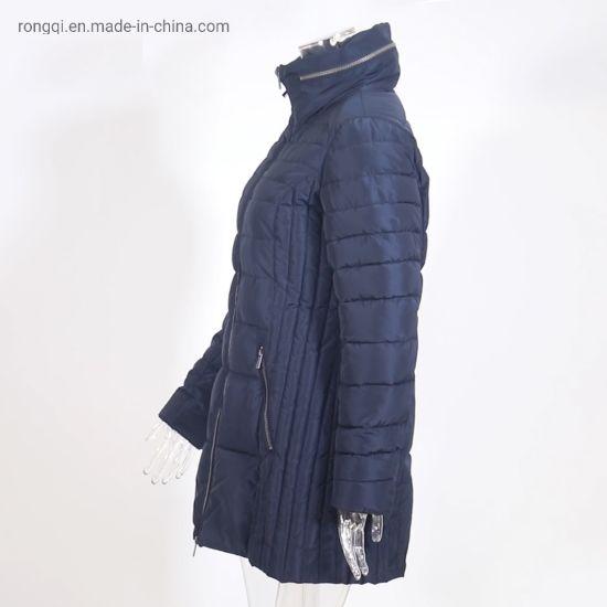Ladies Padded Hiden Hoody Coat out Wear
