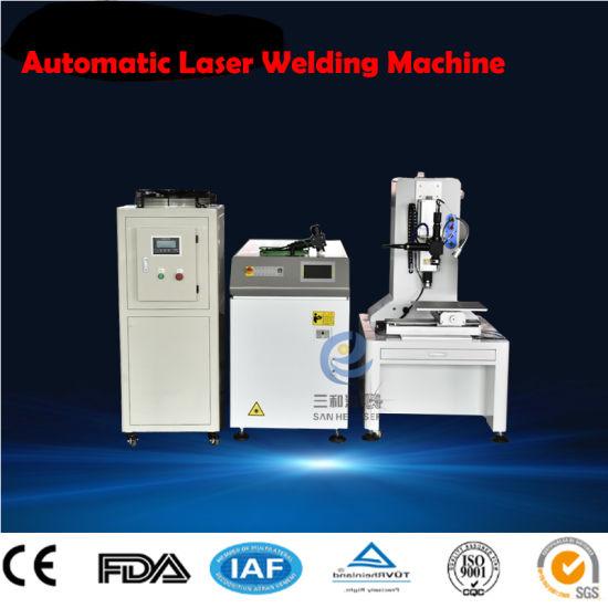 Automatic Fiber Transmission Laser Welder for Steel Copper Silver Gold