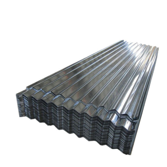 Z275 Hot Dipped Metal Zinc Steel Corrugated Roofing Sheet
