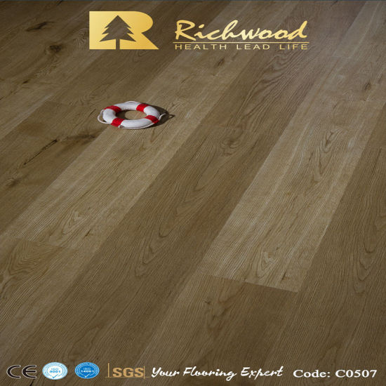 12.3mm Wax Coating Piano Laminate Flooring pictures & photos