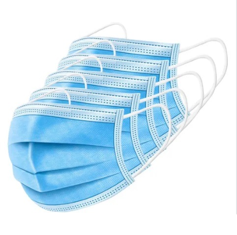 High Quality 3layer Face Mask Disposable Mouth Mask in Stock pictures & photos
