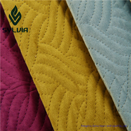 Embossed and Printing Upholstery Fabric for Sofa