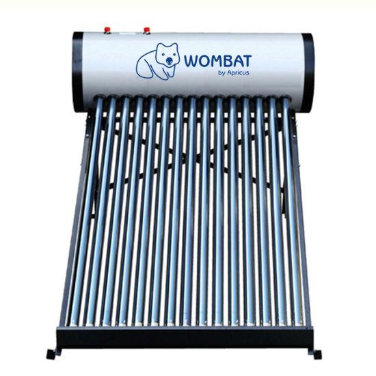 Apricus Compact Non-Pressurized Vacuum Tube Solar Water Heater