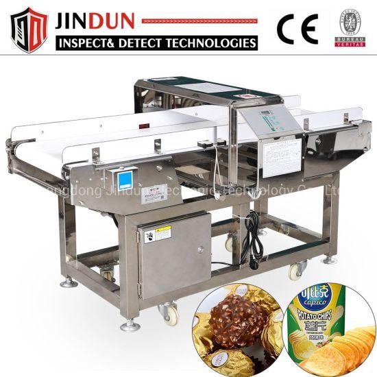 Conveyor Aluminum Foil Packaging Food Chips Candy Snacks Metal Detector