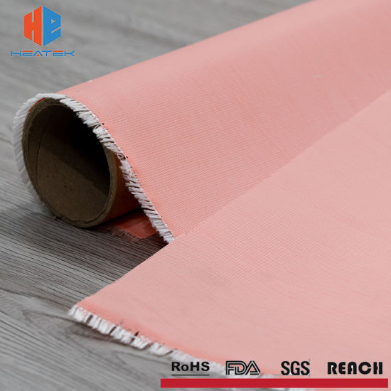 Silicone Rubber Coated Fiberglass Fabric Cloth From Professional Manufacturer