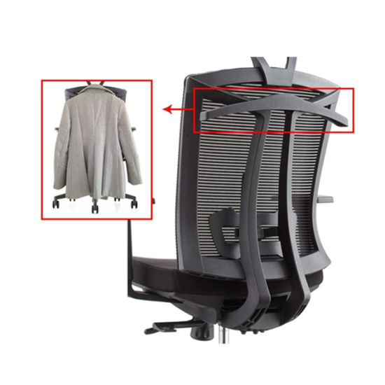 Ergonomic Mesh High-Back Ultra Swivel Mesh Computer Chair Office Furniture with Suit Hanger (HY-6205A)