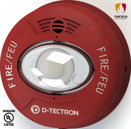 UL Listed Fire Alarm System Wall/Ceiling Mounted Sounder/Horn and Strobe for Indoor-Use Applications DT961R/DT962R pictures & photos