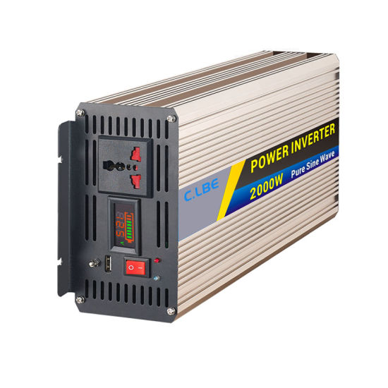 Clb2000A Pure Sine Wave Inverter Smart 2000W