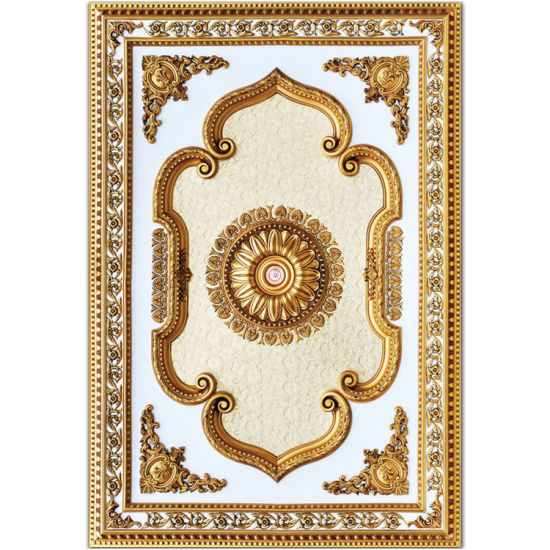 Banruo 3D Decorative Rectangle Ceiling Tiles Panel pictures & photos