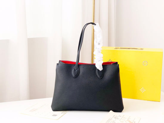 2021 Real Leather Daily Use Outdoor Shopping Large PU Women Handbags Durable Lady Shoulder Bags