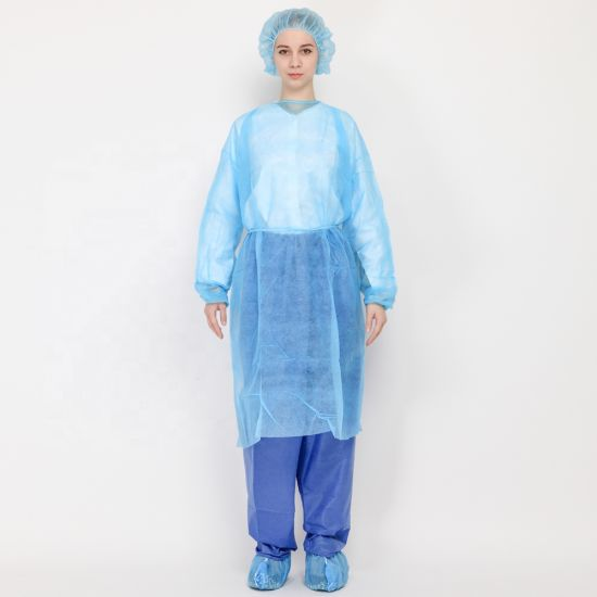 Ce FDA Approved Surgical Medical Isolation Gown