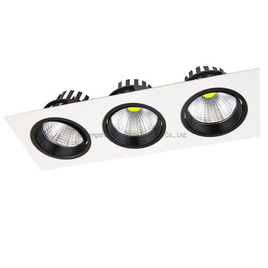 Economic Triple Grill LED Spotlight