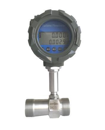 Intelligent Industrial Flow Meter Turbine Flow Meter for Liquid / Gas