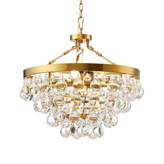 Modern Luxury Crystal Lighting Chandelier Golden Finish LED Modern Chandelier