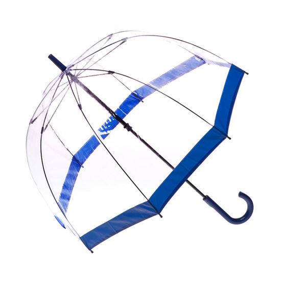 Promotion Gift Poe Plastic Transparent Straight Umbrella China Manufacturer (YZ-20-33)