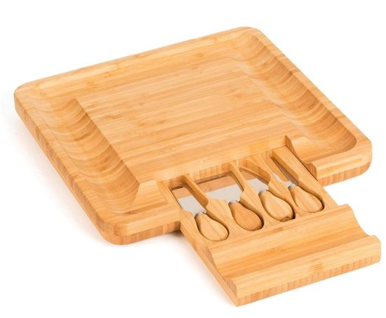 Kitchen High Quality Bamboo Cheese Cutting Board