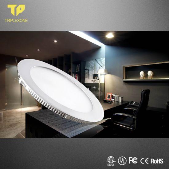 Best Quality Ce RoHS LED Aluminum Plastic Designed LED Panel 18W IP44 Round LED Panel Light Indoor 18W Round LED Panel Light