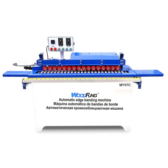 Small and Portable PVC Melamine Micro Automatic Edge Banding Machine My07c