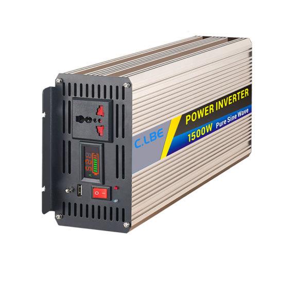 Clb1500A Pure Sine Wave Inverter Smart 1500W