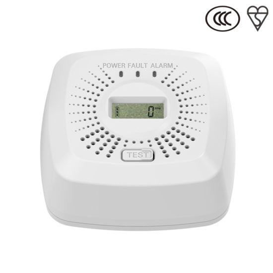 Carbon Monoxide Detector White Co Alarm for Home