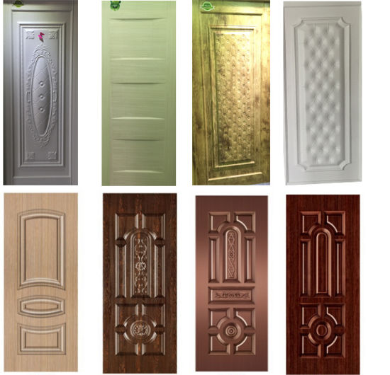 Moulded Steel Metal Door Skin with Colour Veneer & China Moulded Steel Metal Door Skin with Colour Veneer - China Metal ...