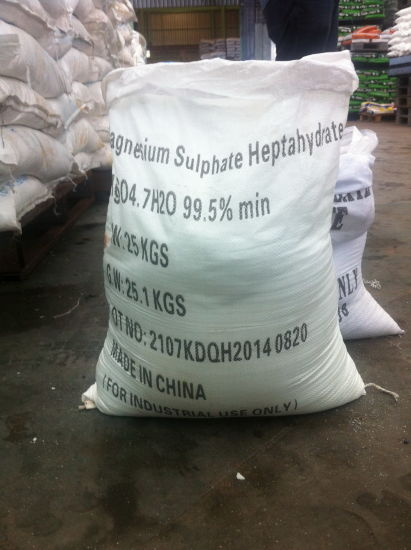 Cheap Mgso4 for Agriculture Use (magnesium sulfate) pictures & photos