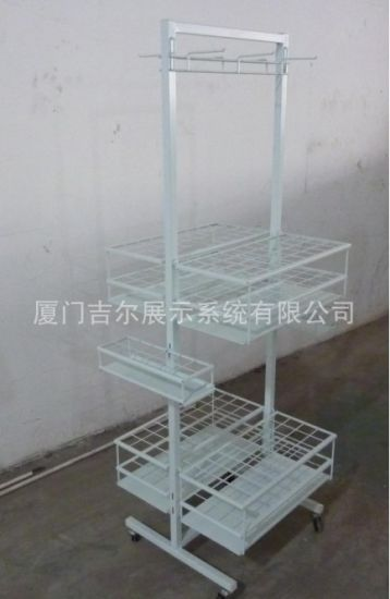 Wire Steel Umbrella Stand Rack for Display (GDS-UM01)