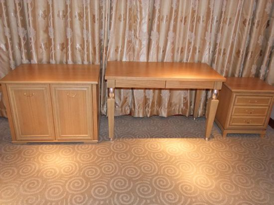 Hotel Furniture/Luxury Hotel Double Bedroom Furniture/Standard Hotel Double Bedroom Furniture/Double Hospitality Guest Room Furniture (NCHB-99101020511) pictures & photos