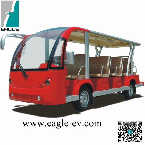 Electric Sightseeing Bus, Ce Approved Brand New, Cheap 14 Seats