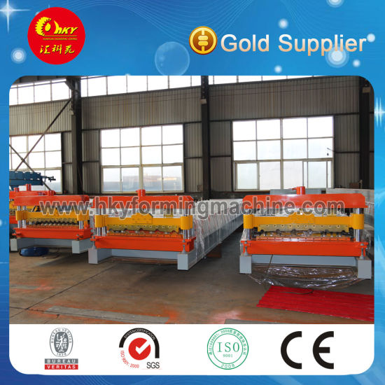 New Style High Quanlity Glazed Metal Iron CGCC PPGI Roofing Panel Cold Roll Forming Machine for Building