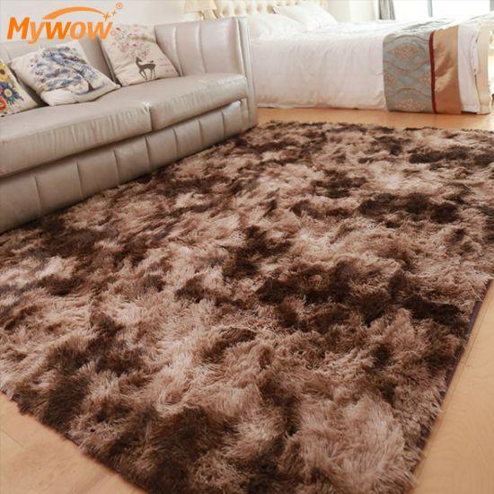Silk Carpet Home Decoration Area Rug Fashion Soft Factory Silk Carpet
