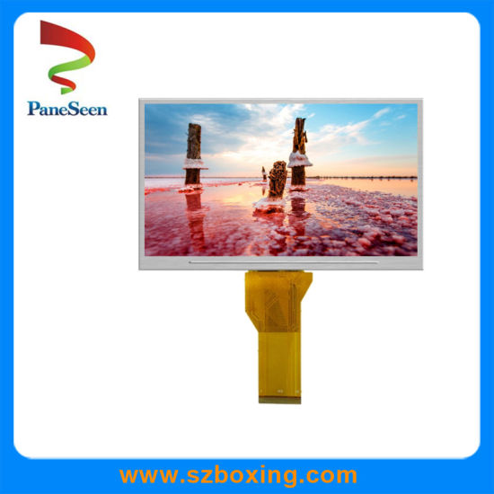 500 Contrast Ratio/800*480 Resolution 8.0 Inch TFT LCD Screen