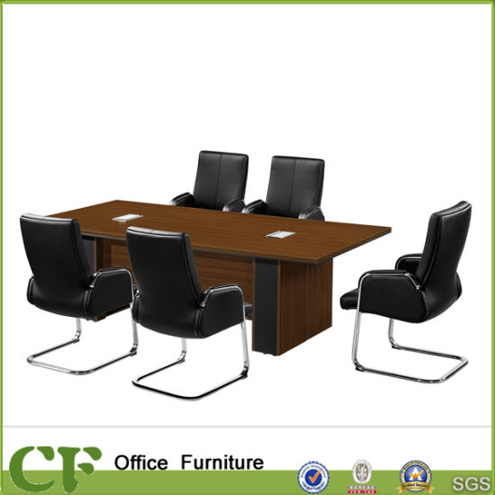 China Large Rectangular Wooden MFC Conference Table For Office - Large wooden conference table