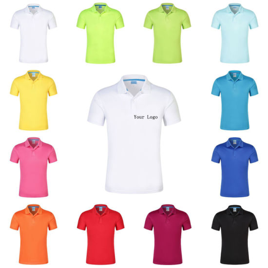 Custom Promotion Quick Dry Breathable Coolmax Sport Training Polo Shirt pictures & photos