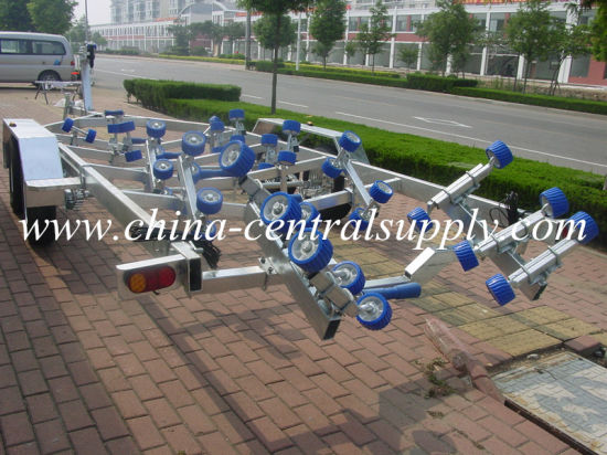 Galvanized Heavy Duty Tandem Axle 8.2m Boat Trailer with Roller System (BCT0109) pictures & photos