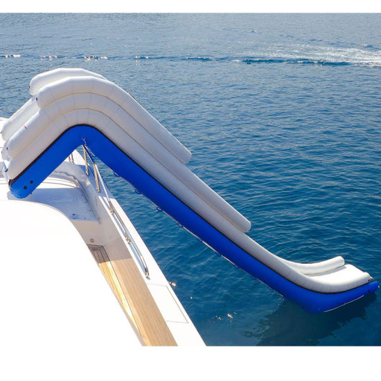 Giant Inflatable Floating Yacht Water Slide pictures & photos