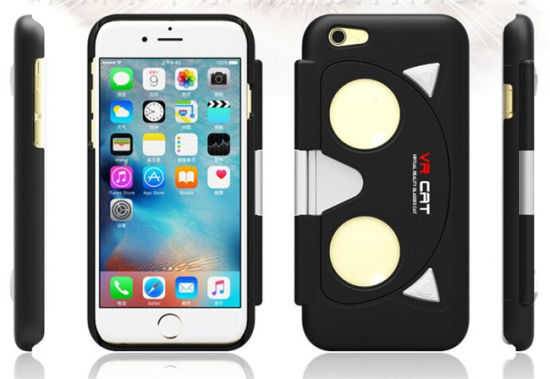 2016 New Product Folding Vr Case Glasses for iPhone 5/6 ABS+PC Virtual Reality Vr Cell Phone Case pictures & photos