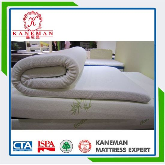 5cm Rolled Packing Single Thin Memory Foam Mattress pictures & photos