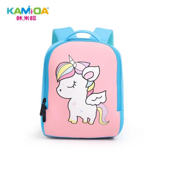 Neoprene Waterproof Cute Backpack Kids School Bag