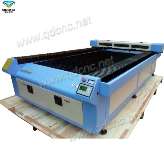 Open-Type Worktabe CO2 CNC Laser Cutting and Engraving Machine with 1300*2500mm Qd-1325